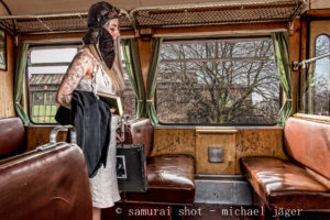 Steampunk Fotografie – Fotoinszenierung mit Model Jenes S.
