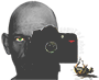 samurai shot – michael jäger Logo